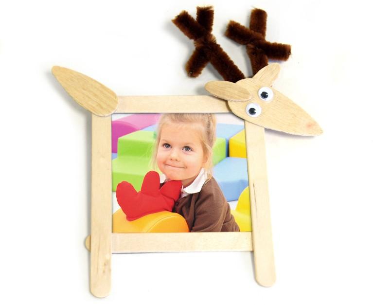 Bilderamme med reinsdyr